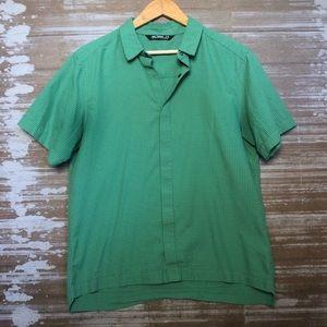 Arc'teryx Green Snap Button Down Shirt Size M